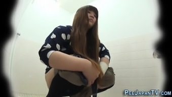 Asian Teens Watched Pee