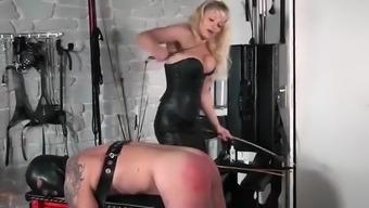 Horny Homemade Mature, Spanking Sex Clip