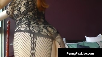 Butt Pluggin Penny Pax Loves Pounding Her Tight Wet Asshole