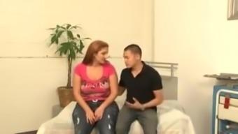 Sonia Blaze In Front Of Her Man