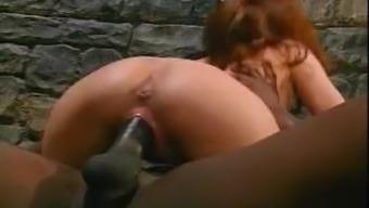 Rehhead Nurse Destroyed By Big Black Cock