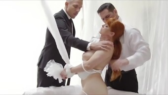 Bondage Doll Smashed Hardcore In Threesome Mmf Bdsm