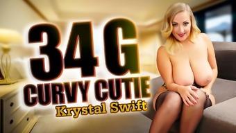 34 G Curvy Cutie With Krystal Swift