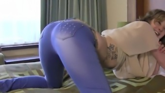 Freckled And Tall Dutch Nina Squirt Orgasm And Tasty Blowjob