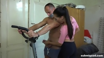 Hand Jobs On Bicycle