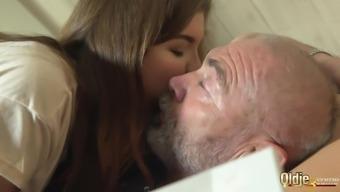 Old Man Fucks 2 Young Teens Swaps Cum Girlfriend Bff