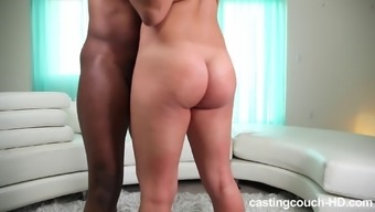 Chubby Cia Pussy Logged With Big Cock In Interracial Porn
