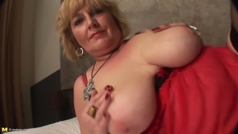 Monieka S Is A Honey In Red Boots Who Loves Masturbating Hard