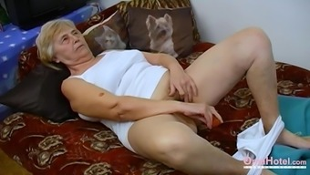 Homemade Video Featuring Amateur Fatty Lesbian Grandma Compilation