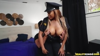 Moriah Mills Is A Policewoman With Massive Boobs Ready For A Cock