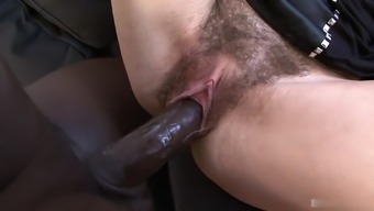 Ashley Woods Is A European Brunette With A Hot Slim Body And One Of The Biggest Bushes