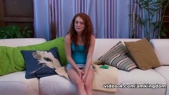 Crazy Pornstar Alice Green In Hottest Small Tits, Redhead Adult Clip