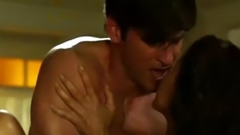 Hot Brunette Actress Ana Alexander Gets Naked In A Movie