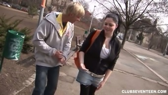 Mega Busty Full Natural Chick Shione Is Fucked By One Stranger Guy