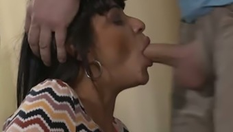 Quite Flexible Lady Tera Joy Gets Her Soaking Cunt Properly Licked