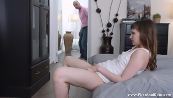 Stasya Stoune Is A Gorgeous Babe Seduced By A Horny Lover