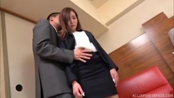Japanese Office Worker Cannot Wait To Be Ravished Hardcore