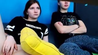 Lesbian Teen Toying Date