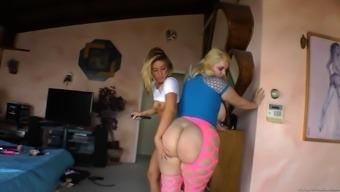 Big Ass Milf Enjoys Hot Lesbian Fun