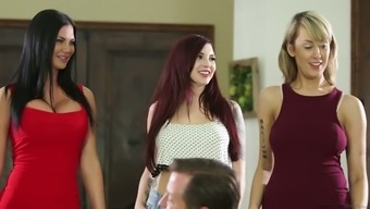 Amber Ivy And Jasmine Jae Are Two Horny To Stop And They Love Orgies