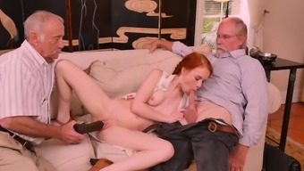 Mature Old Men Orgy