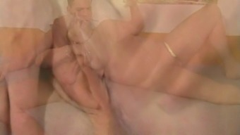 Granny Gets Out Of Sauna For Sex