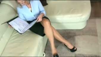 Amateur Blond Milf Plays With My Dick And Sits On My Face