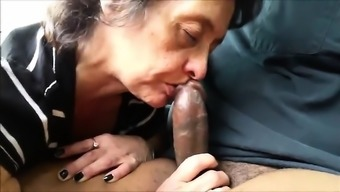 Mature And Busty Amateur Wife Blowjob And Anal Creampie