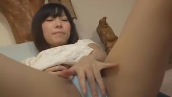 Fabulous Japanese Girl Minami Ooshima In Amazing Solo Girl Jav Scene