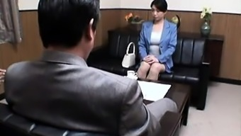 Sexy Asian Lady Drops Her Clothes And Has Fun With A Guy On