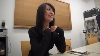 Japanese Darling Asami Nagase Having Her Twat Exhausted From Fucking