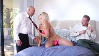 A Wife Gets Double Penetrated By Her Husband And His Best Friend