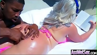 Anal Hardcore Bang With Slut Big Butt Oiled Girl (Assh Lee) Movie-06
