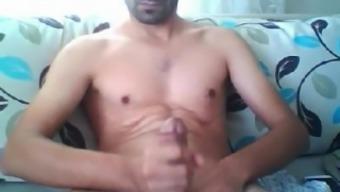 Turkish Man Cums