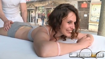Leyla Bentho Shows Her Oral Skills
