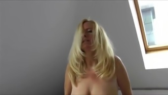 Blonde Mature Wife Cuckolds Her Submissive Husband.-Edit.Mp4