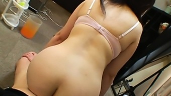 Sexy Asian Milf Drops Her Clothes To Reveal Her Fabulous Ass And Perky Tits