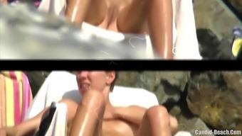 Topless Bikini Big Boobs Teens Beach Voyeur Hd Video Spycam