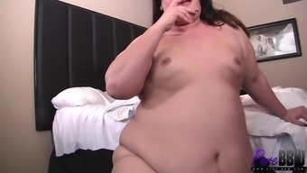 Tiny Dick Fat Tranny Strokes Some Dude'S Cock To Cumshot