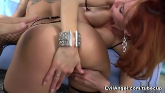 Best Pornstars Veronica Avluv, Jessy Jones, Angelica Saige In Horny Big Ass, Big Tits Adult Scene