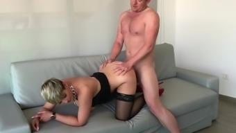British Blonde Babe'S Banging Body