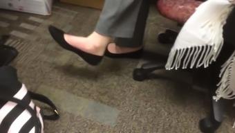 Candid Flats Shoeplay And Soles Au Bureau