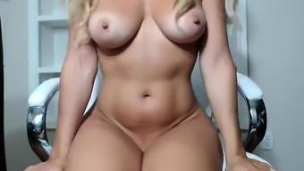 Big Boobs Blonde Mom