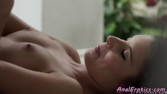 Spooned Smalltits Beauty Gets Assfucked