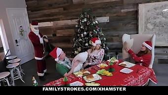 Familystrokes - Hardcore Family Fucks For Christmas