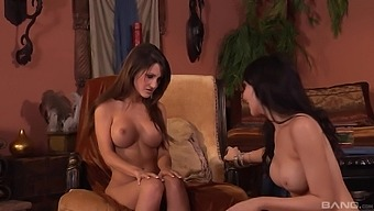 Diana Prince Gets Her Wet Pussy Licked  By Her Lesbian Friend