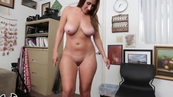 Bangbros - Busty Big Butt Freak Skyler Luv Gets Broken In During Casting Video!