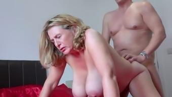 γυναικείος οργασμός, ενώ γαμημένο πορνό