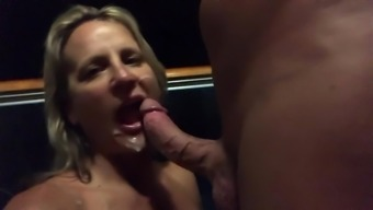 Balcony Fuck & Facial (Caribbean Cruise)