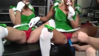 Masturbating Porn Video Featuring Hunter And Kylani Breeze